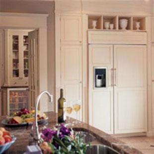 Фото для Холодильники декорированные и под панелирование
